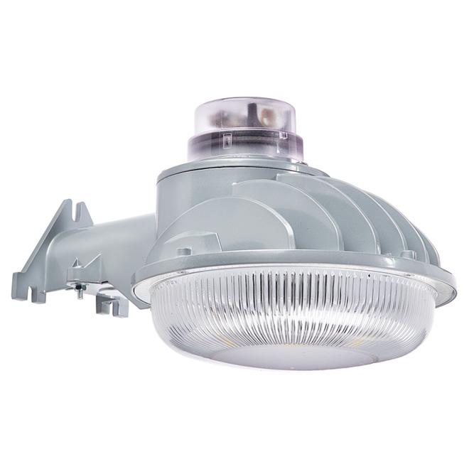 Lumière de sécurité murale à DEL sans détecteur, grise