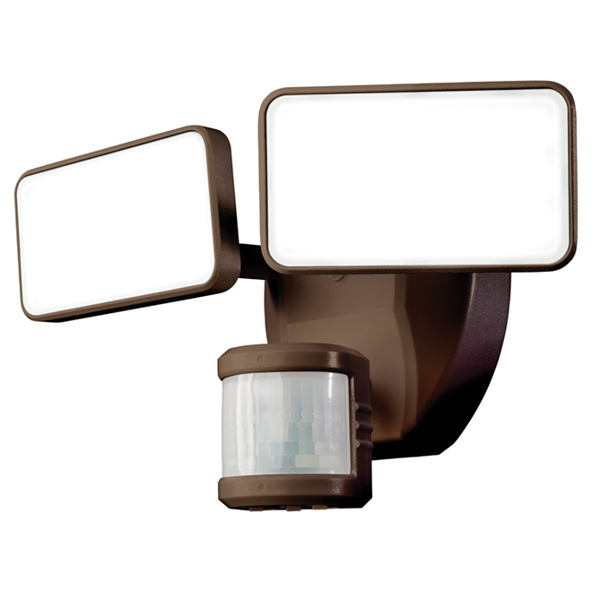 Lumière de sécurité DEL, Heath Zenith avec détecteur, bronze