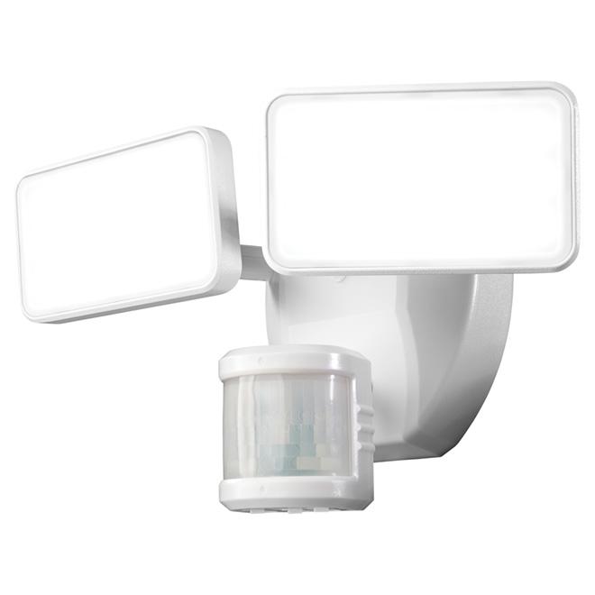 Lumière de sécurité DEL Heath Zenith avec détecteur, blanc