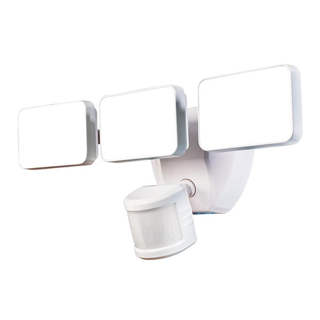 Lumière de sécurité, détecteur de mouvement, 3 lumières, blanc