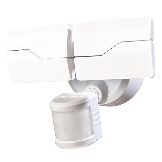 Lumière de sécurité Heath Zenith, FlexView, DEL, blanc