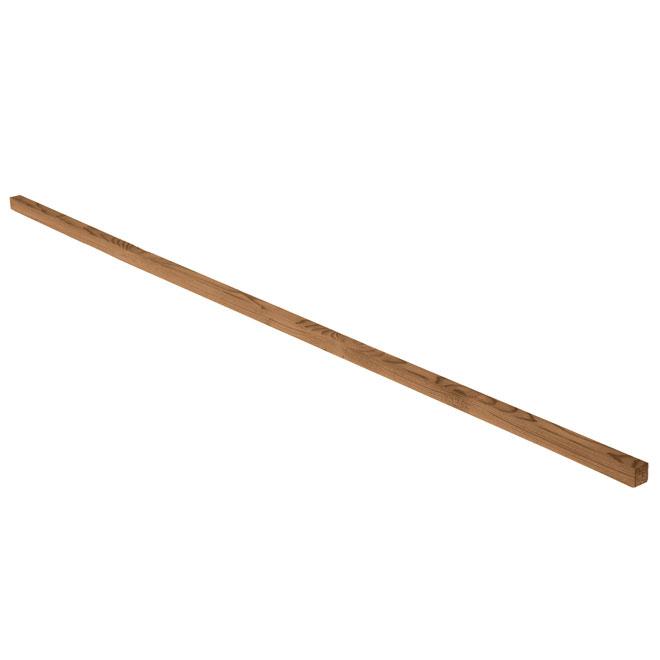 Bande de clouage en bois traité, 1 po x 1 po x 8 pi