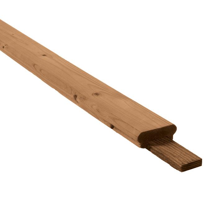 "Pressure Treated Wood Handrail - 2"" x 4"" x 8'"