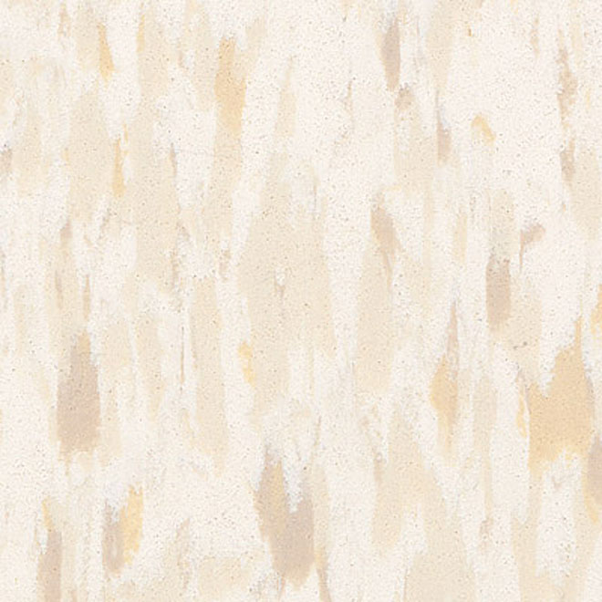 Tuiles de vinyle pour plancher 12 x 12 po - Beige
