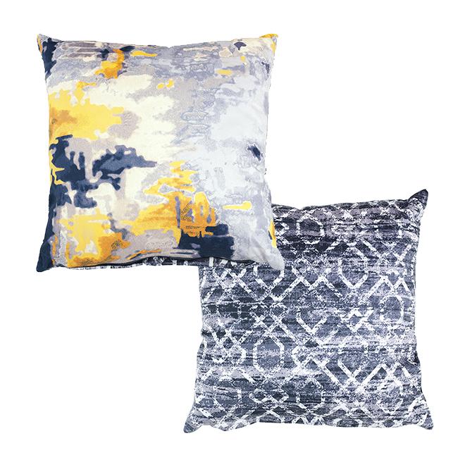 "Decorative Cushion - Micro Deluxe - 16"" x 16"" - Beige"