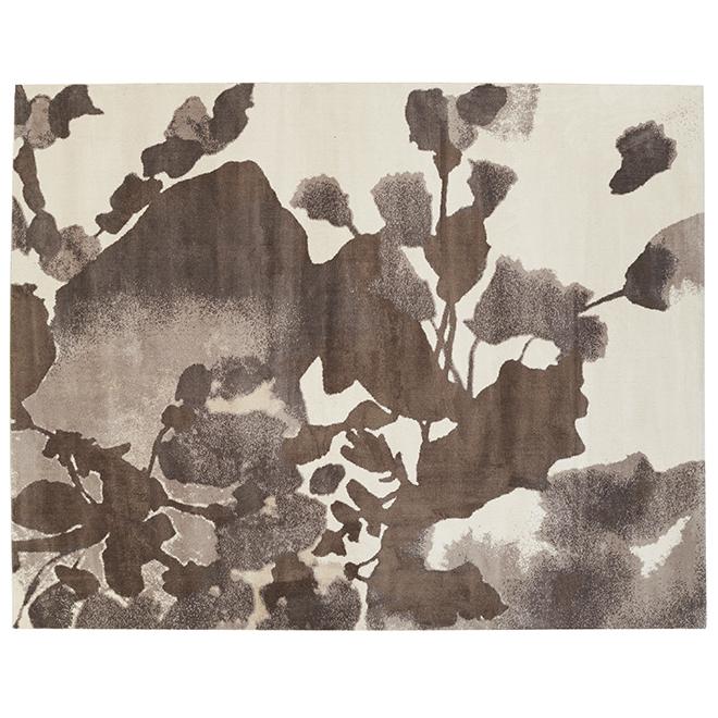 Tapis décoratif Korhani Croft, beige, 8 pi x 10 pi