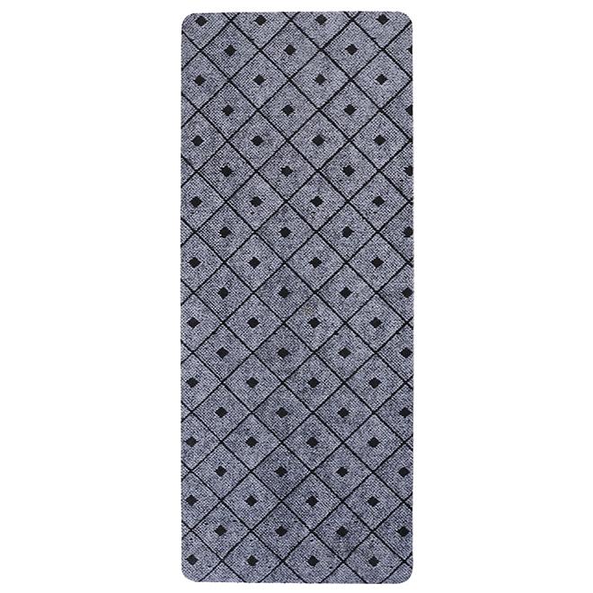 Tapis utilitaire en caoutchouc, 2' x 5', gris