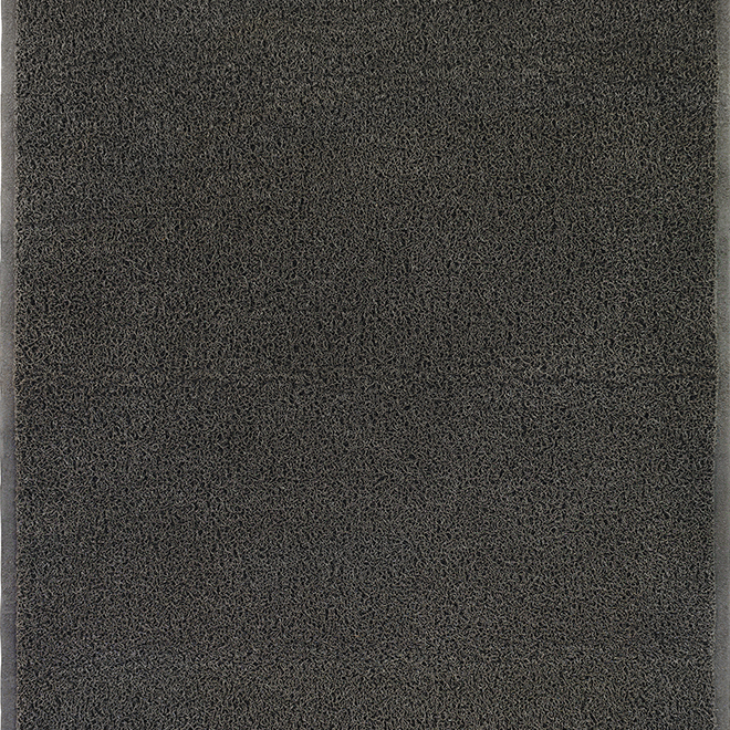 Studio - Indoor/Outdoor Utility Rug - Noodle Mat - 2-ft x 3-ft - Black