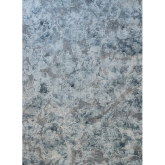 Tapis intérieur, Korhani Home, Fullbright, 5 pi .x 7 pi , polyester, bleu