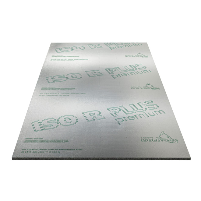 "Isolant rigide pare-vapeur ISO R PLUS, 1/2"" x 4' x 97 1/4"""