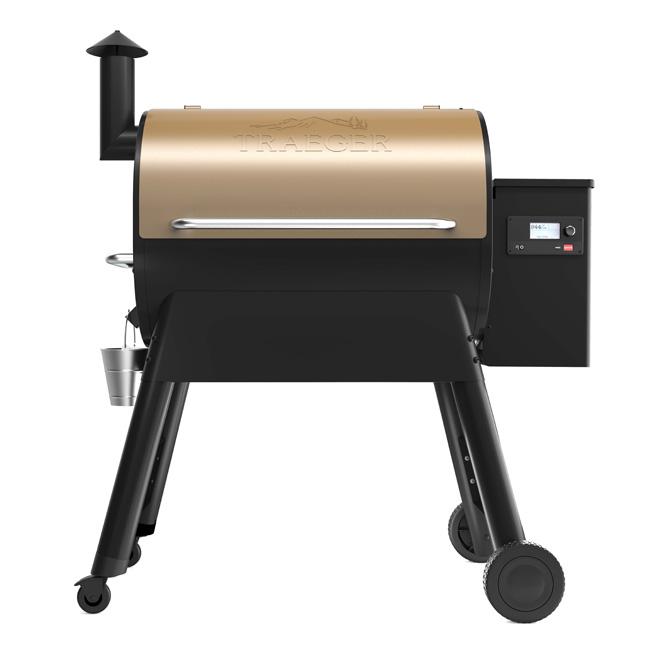 Gril à granules Pro 780 Traeger Pellet Grill , 48 po 780 po², bronze et noir