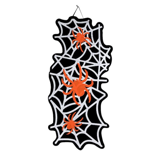 Décoration murale suspendue d'Halloween Holiday Living, toiles d'araignées, 30 po