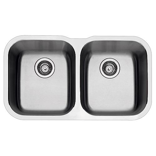 """""""Essential"""" Undermount Double Kitchen Sink"""