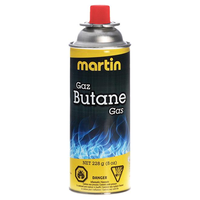Bottle of Butane Gas - 8 oz