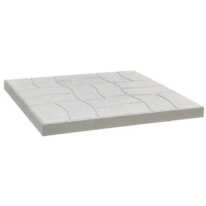 Dalle de pavé Patio Drummond, béton, grise, 24 po L. x 24 po l. x 1 5/8 po h.