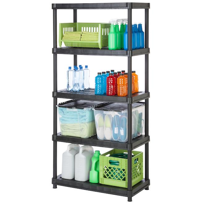 5-shelf unit