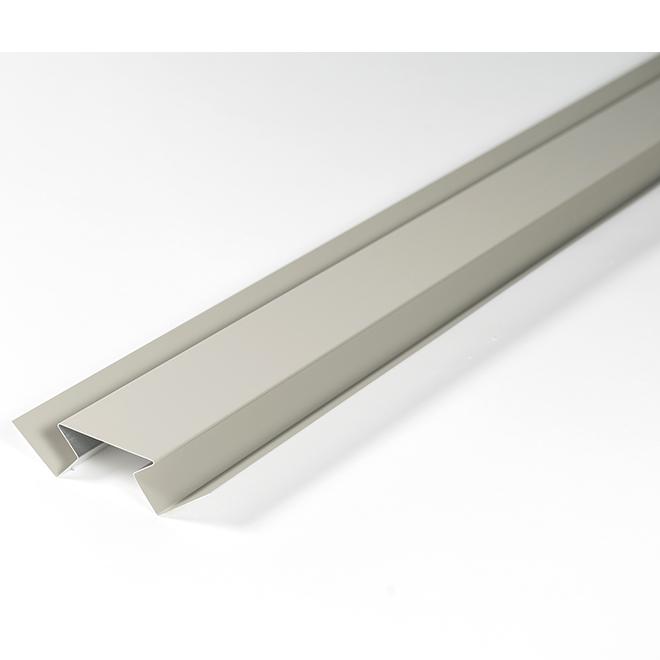 Aluminum Interior Corner Trim - 10' - Acadia