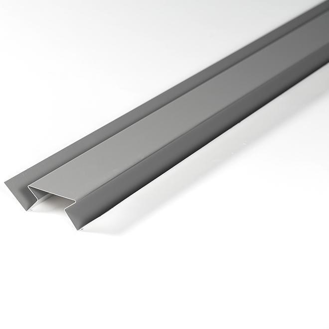 Moulure de coin intérieur en aluminium, 10', granite