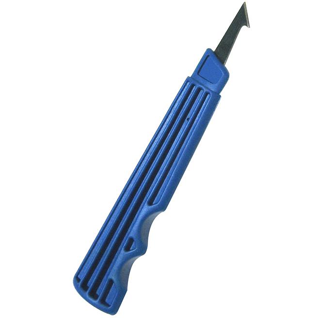 Couteau à plastique