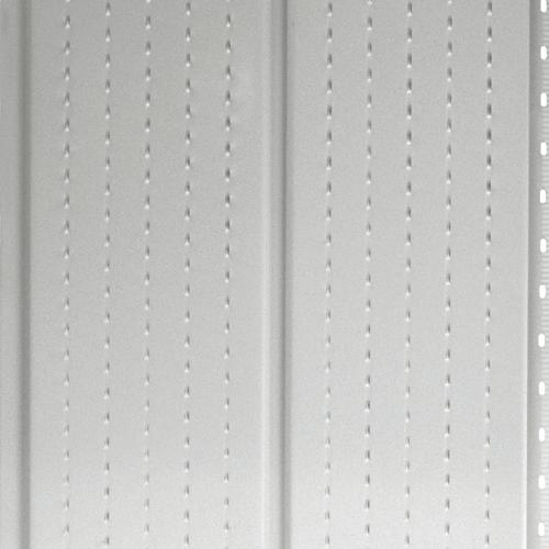 """Soffite ventilé deluxe Kaycan, 16"""" x 12"""", blanc semi-lustré"""
