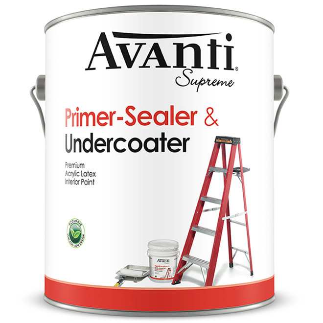 Interior latex primer-sealer
