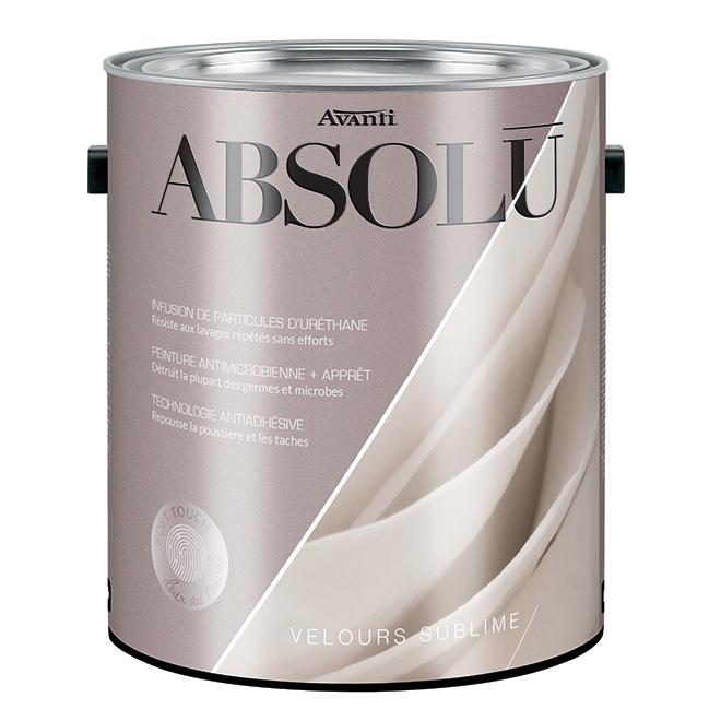 2-in-1 Interior Paint and Primer - Velvet Finish