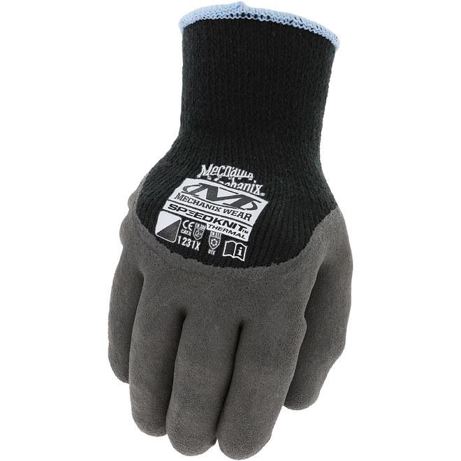 Gant thermal, Mechanix Wear, petit/moyen, noir