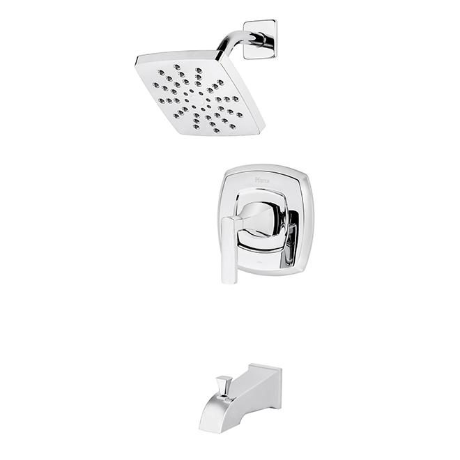 Ensemble robinet pour bain-douche Penn de Pfister, 1 levier, chrome poli