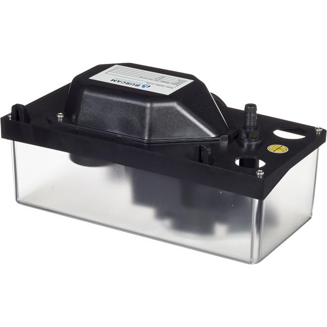 Pompe de condensation, plastique, 1,45 A, 115 V