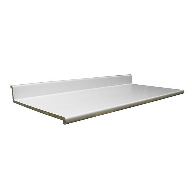 "Comptoir moulé 2300, Blanc, 25,5"" x 8'"