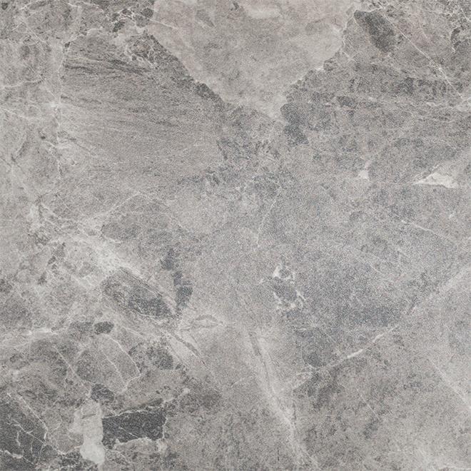 """Comptoir en mélamine Braganza, 25,5"""" x 8', gris"""