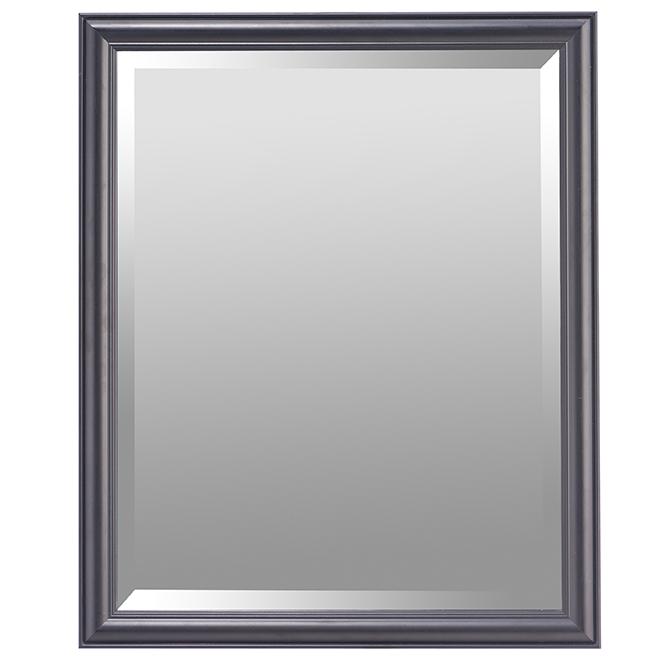 "Bevelled Mirror - 19.25"" x 23.25"" - Black"