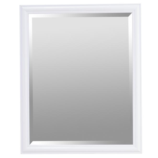 """Bevelled Mirror - 19.25"""" x 23.25"""" - White"""