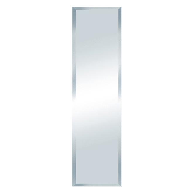 Miroir biseauté Columbia, 16 po x 58 po