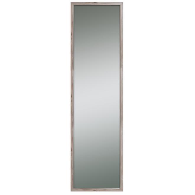Miroir à cadre, Columbia Frame, Signatory Perfection, bois composite 19 po x 49 po gris bois