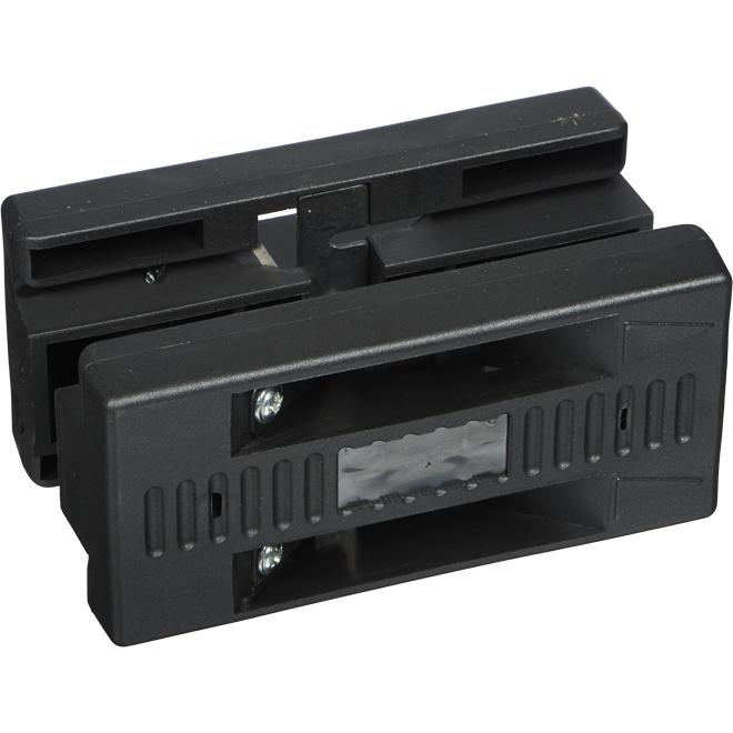 Ébarbeuse manuelle pour bande de chant Contractors Zone, plastique, noire, 13 à 25 mm
