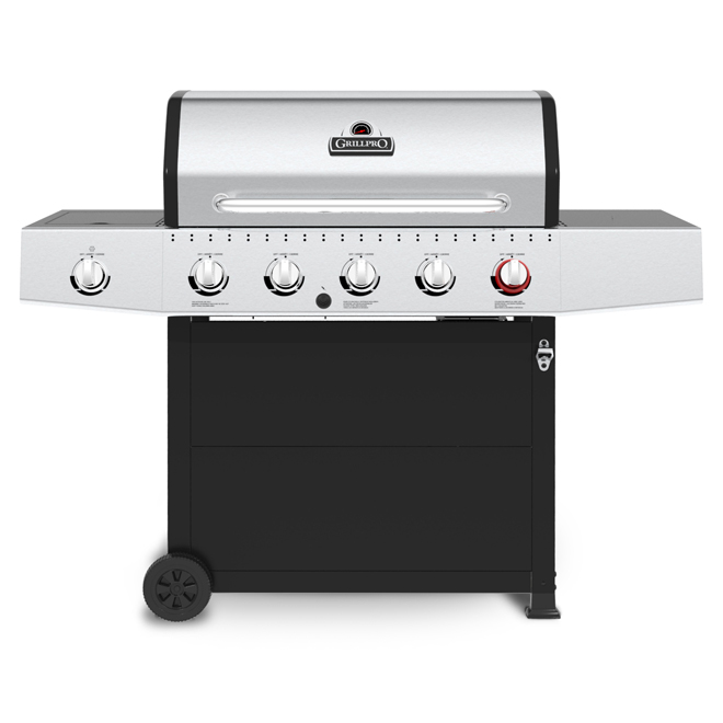 Barbecue au propane, 5 brûleurs, 58 000 BTU, 805 po²