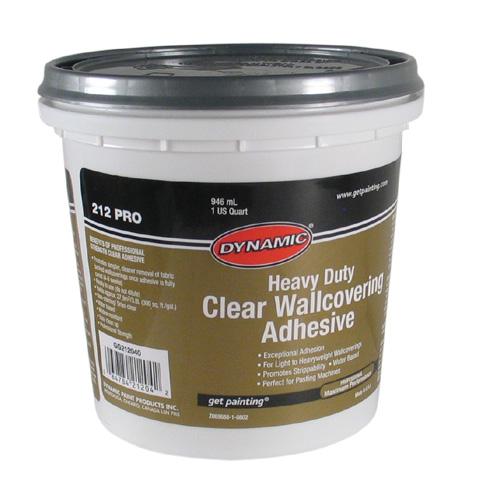DYNAMIC Adhesive - Clear Wallpaper Adhesive GG6212040 ...
