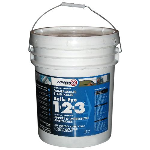 BullsEye 1-2-3(R) Primer-Sealer Stain Killer - 18.9 L