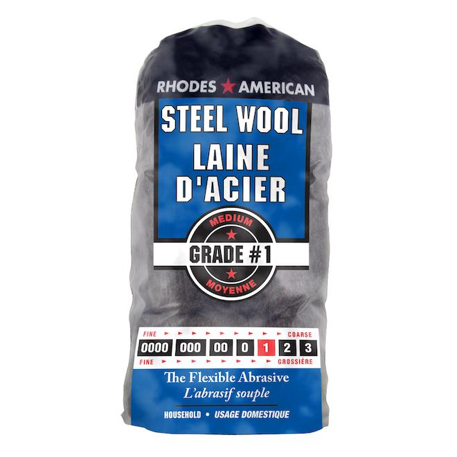 Medium Steel Wool - #1 - 12-Pack