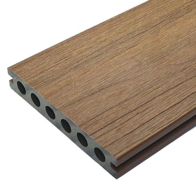 Planche pour terrasse 12', composite, teck