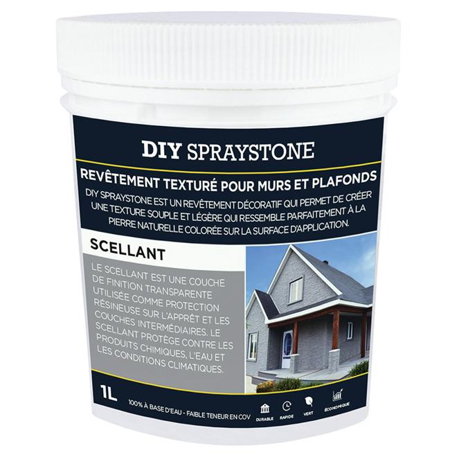 Scellant pour revêtement DIY Spraystone, clair, 1L