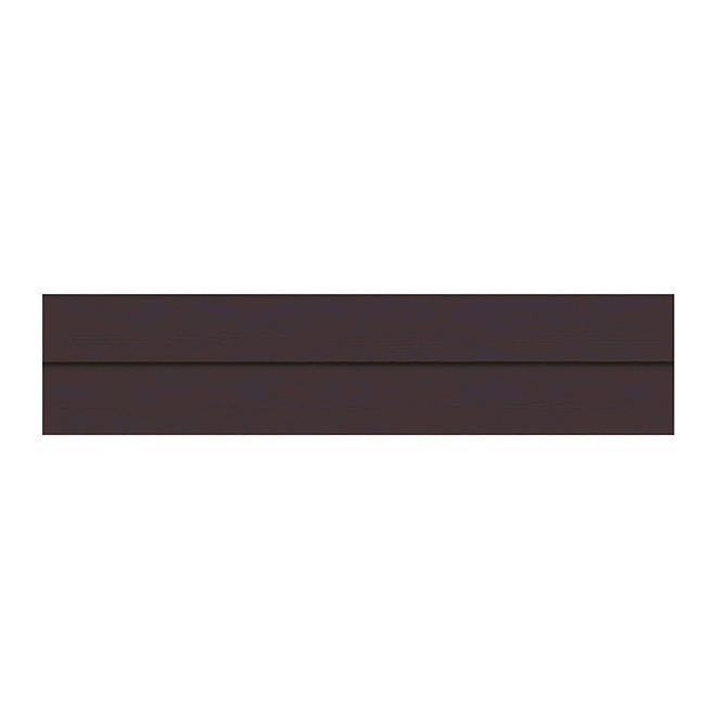 Revêtement mural Elegance Premium, noyer, composite, 12 pi L.