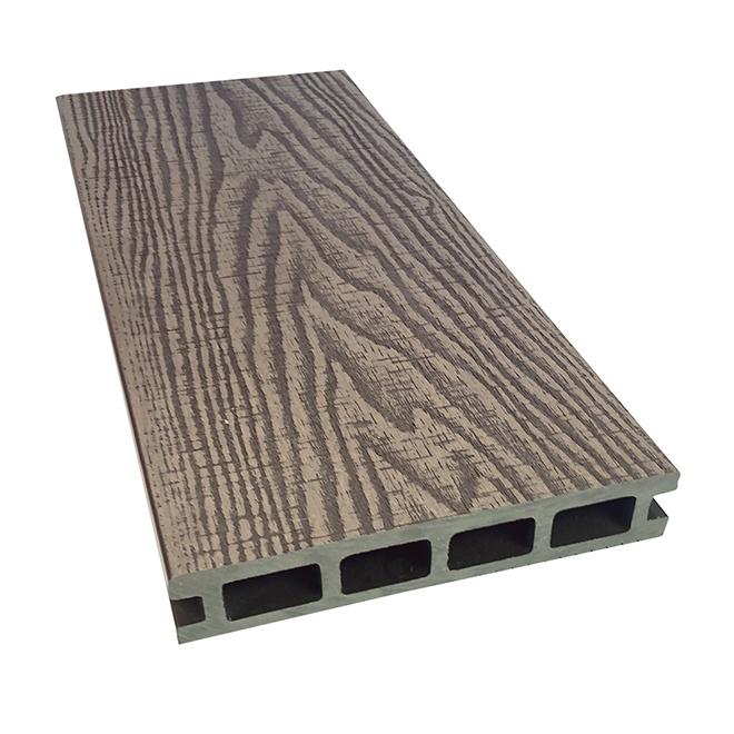 Elegance Prestige - Decking Board - 12' - Composite - Rustic - Deep Tea