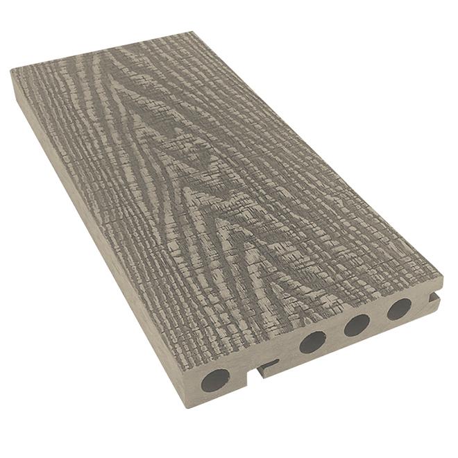 Nez de marche rustique Elegance Premium, 12', gris pâle