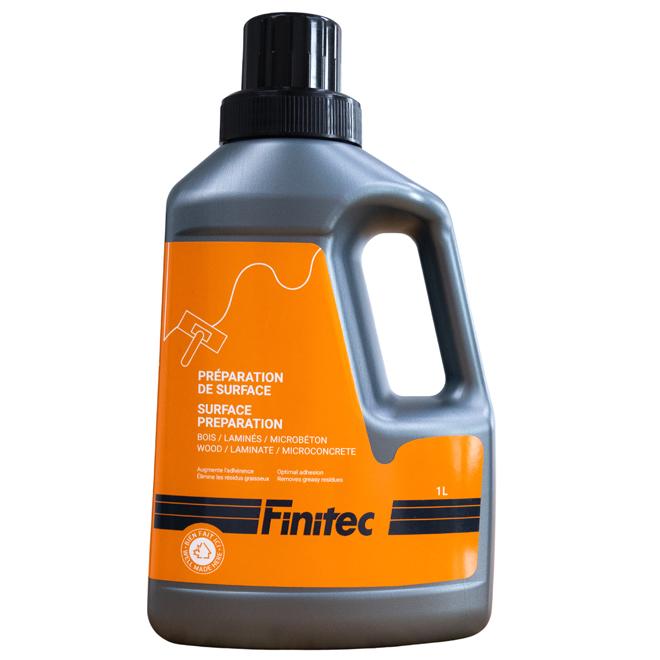 Préparation de surface Finitec pour planchers de bois et laminés, sans odeur, transparent, 1 L