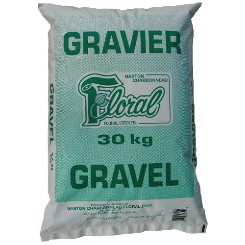 Gravier 1/4 po, 30 kg