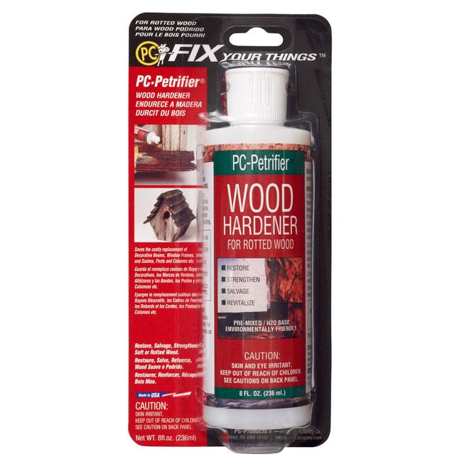 Solidificateur translucide pour le bois pourri 8 oz
