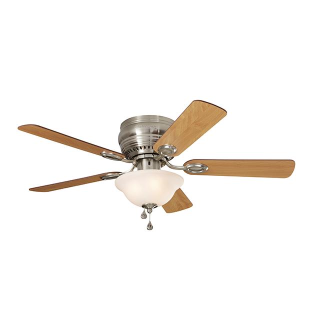 Ventilateur plafond «Mayfield», 44'', 5 pales, 1 lumière DEL