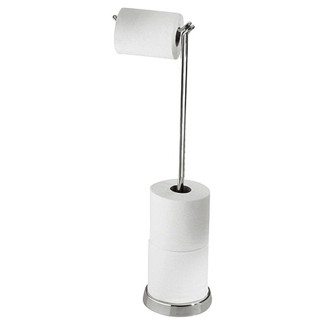 Pedestal Toilet Paper Holder ''Classico'' - 24.5'' - Chrome